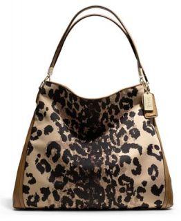 COACH MADISON PHOEBE SHOULDER BAG IN OCELOT PRINT FABRIC   COACH   Handbags & Accessories