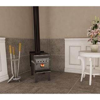 Vogelzang Durango High-Efficiency Wood Stove with Blower — Model# TR008  Wood Stoves
