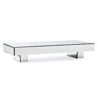 west elm Mirror Block Coffee Table, Mirrored Glass   Furniture