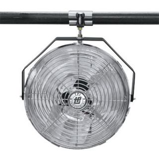 TPI Work Station Fan — 18in., Model# U-18-TE  Wall Mount   Dock Fans