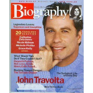 Biography Magazine April 2003   John Travolta..Napoleon and Josephine..Doris Day: Books