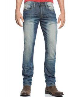 Buffalo David Bitton Ash X Slim Fit Jeans, Rugged Wash   Jeans   Men