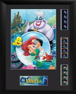 Trend Setters Disney Wall Art, The Little Mermaid Triple Scene   Wall Art   For The Home