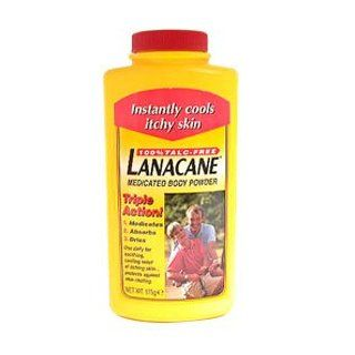 Lanacane Medicated Body Powder 175g : Therapeutic Skin Care Products : Beauty