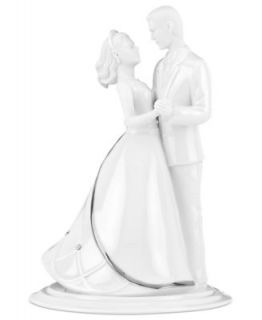 Monique Lhuillier Waterford Cake Topper, Modern Love Bride and Groom   Collections   For The Home