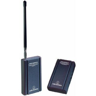 Audio Technica PRO 88W Wireless Microphone System (169.505 and 170.305 MHz) Musical Instruments