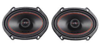 Mb Quart Okc168 6x8 or 5x7 Coaxial Car Speakers 40 Watts RMS 80 Watts Max Each  Vehicle Speakers