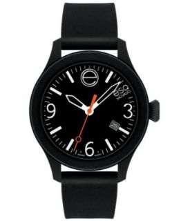 ESQ Movado Watch, Unisex Swiss ESQ One Black Silicone Strap 43mm 07301436   Watches   Jewelry & Watches