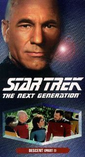 Star Trek   The Next Generation, Episode 152: Descent, Part I [VHS]: LeVar Burton, Gates McFadden, Gabrielle Beaumont, Robert Becker, Cliff Bole, Timothy Bond, David Carson, Chip Chalmers, Richard Compton, Robert Iscove, Winrich Kolbe, Peter Lauritson, Rob