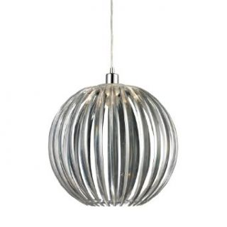 Sterling Industries 144 004 Dores   One Light Pendant, Chrome Finish with Clear Glass   Ceiling Pendant Fixtures