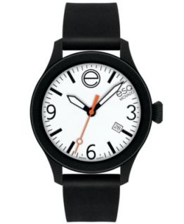 ESQ Movado Watch, Unisex Swiss ESQ One Black Silicone Strap 43mm 07301442   Watches   Jewelry & Watches