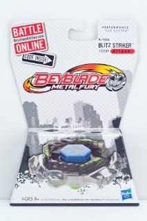 Beyblade Metal Fury Blitz Striker B 142A: Toys & Games