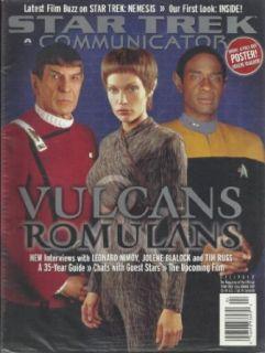 Star Trek Communicator Magazine Issue 137 Leonard Nimoy Jolene Blalock Tim Russ Spock T'Pol Tuvok Vulcans Cover Entertainment Collectibles