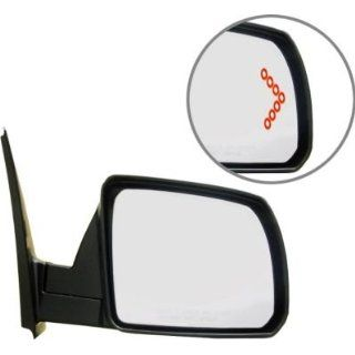 Kool Vue TY137ER S Mirror Corner mount Type Passenger Side RH Plastic Chrome Power Heated In glass With memory feature Automotive