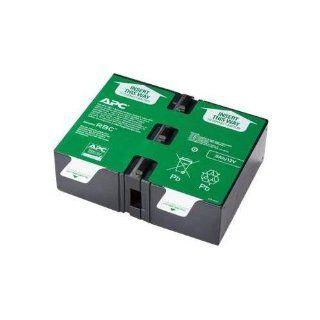 APC APCRBC124 UPS Replacement Battery Cartridge # 124   NEW   Retail   APCRBC124: Computers & Accessories