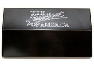 Billet Custom (GMBC 121 HEART BLK) Black 'Heartbeat' Fuse Box Cover for Chevrolet Camaro Automotive