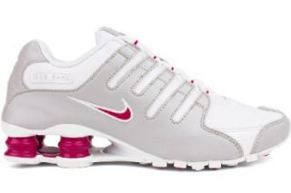 Nike Shox NZ Womens Running Shoes 314561 107 White 9 M US: Shoes