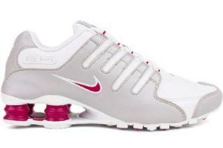 Nike Shox NZ Womens Running Shoes 314561 107 White 9 M US: Shoes