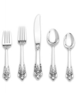 Wallace Grande Baroque Sterling Silver Flatware Collection   Flatware & Silverware   Dining & Entertaining