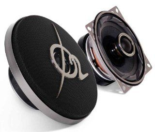Oxygen Audio AIR102 4 inch. 2 Way Speaker, 100 Watts RMS (O2 AIR 102)  Vehicle Speakers