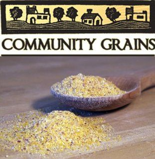 Community Grains Heritage Floriani Red Flint Corn Polenta 10lb : Polenta Meals : Grocery & Gourmet Food