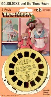 Goldilocks and the Three Bears 3d View Master 3 Reel Set Toys & Games