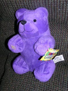"Gummy Bears 9"" Plush Purple Gummy Bear Doll Toys & Games"