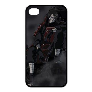 FindIt Japanese Anime Series Popular And Cool NARUTO Uchiha Madara Durable Rubber Case Cover For Iphone 4/4S: Cell Phones & Accessories