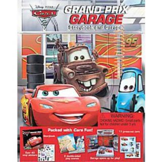 Cars 2 Grand Prix Garage (Hardcover)