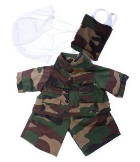 "Special Forces outfit Teddy Bear Clothes Fits Most 14""   18"" Build A Bear, Vermont Teddy Bears, and Make Your Own Stuffed Animals: Toys & Games"