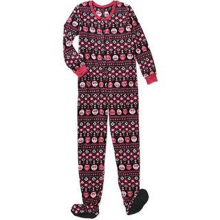934cbfb8cf ... No Boundaries Juniors Fleece Footed Pajamas  Intimates   Loungewear ...