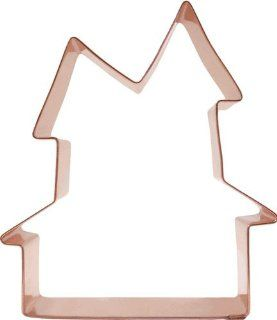 Halloween Haunted House Copper Cookie Cutter: Kitchen & Dining