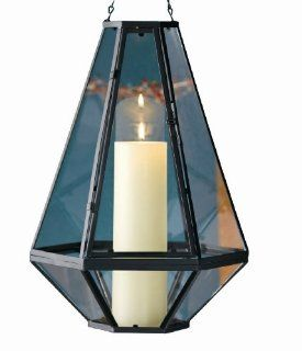 "Tag Pendant Candle Holder Lantern, 16.26"" Tall x 11.5"" Wide   Decorative Candle Lanterns"