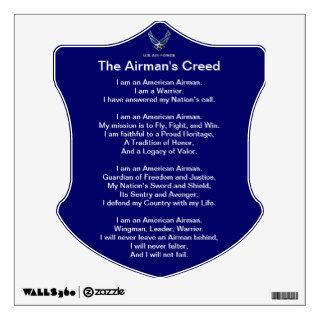 U.S. Air Force Airman's Creed Wall Decal