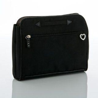 Big Timer Transfer Bag   Solid Black with Rhinestones   Picnic Backpacks