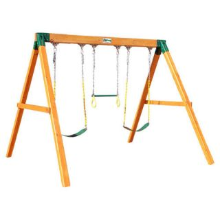 Gorilla Playsets Congo Free Standing Swing Set Outdoor Play