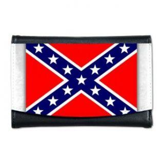 Artsmith, Inc. Mini Wallet Rebel Confederate Flag HD: Clothing