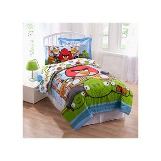 Angry Birds Twin Comforter, sheets and Sham set bed in a bag new for 2013   Childrens Comforters