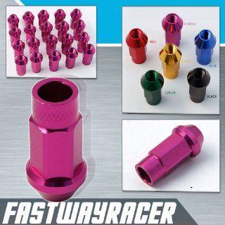 Godspeed 20 Pieces 12x 1.25mm Purple Color Extended Aluminum Lug Nut Lugs 12x1.25mm Wheel Nut Nuts Fit ALL Subaru , Legacy , Legacy Gt , Legacy 2.5gt Limited , Legacy 2.5i Premium , Impreza , Impreza STI , Impreza WRX , 2.5rs Impreza Ts WRX , 2.5 Rs Imprez