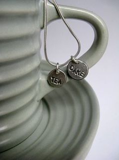 personalised silver bookmark by honeybourne jewellery