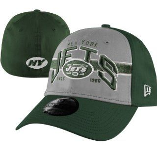 New York Jets New Era 3930 Flex Fit Hat Cap Size Large / X Large Fits 7 1/2 through 7 3/4 NFL Authentic & NEW  Sports Fan Beanies  Sports & Outdoors
