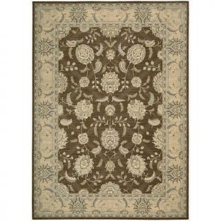 Nourison Persian Empire Beige and Blue Area Rug