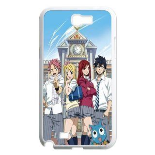 Ashley Device The Gift For Christmas The Strongest Team Erza Natsu Gray Lucy For Japanese Anime Fairy Tail Samsung Note2 N7100 Best Durable Cover Case: Cell Phones & Accessories