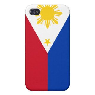 Philippines Flag iPhone Covers For iPhone 4