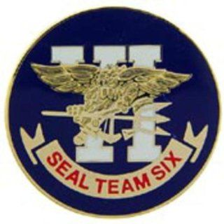 "U.S. Navy SEAL Team 6 Pin 1"" Sports & Outdoors"