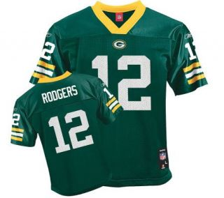 Youth Green Bay Packers Aaron Rodgers Nike Green Limited Jersey