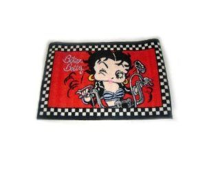 Betty Boop BBKF 019 Biker Betty Boop Area Rug   39 x 58 inches   Childrens Rugs