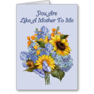 Sunflower Bouquet Mother's Day Greeting Card