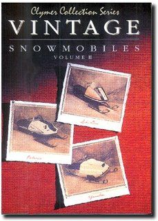 VINTAGE SNOWMOBILE MANUAL   POLARIS/SKI DOO/YAMAHA, Manufacturer: CLYMER, Manufacturer Part Number: S821 AD, Stock Photo   Actual parts may vary.: Automotive
