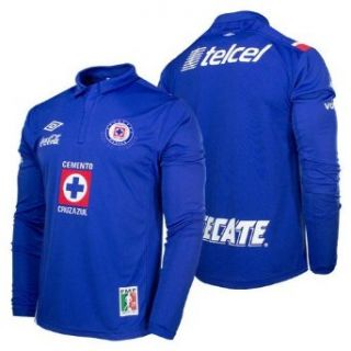 Umbro Cruz Azul Home Long Sleeve Jersey 12/13 (M): Clothing